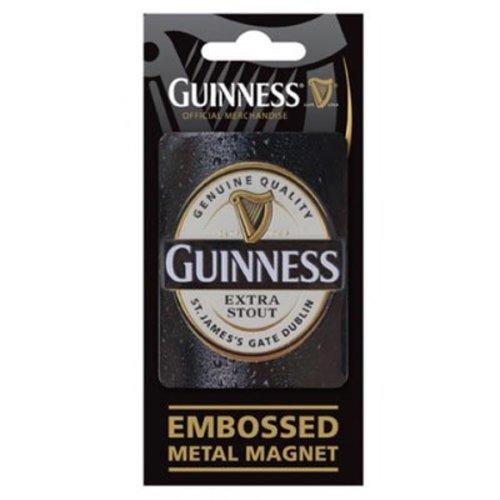 Guinness Guinness Logo Embossed Metal Magnet
