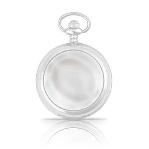 A E Williams Plain Fronted Pocket Watch