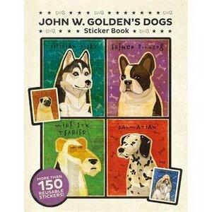 John W. Golden's Dogs Sticker Book