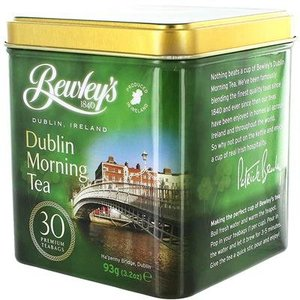 Bewley's Tea of Ireland Bewley's Dublin Morning Tea Tin 30s