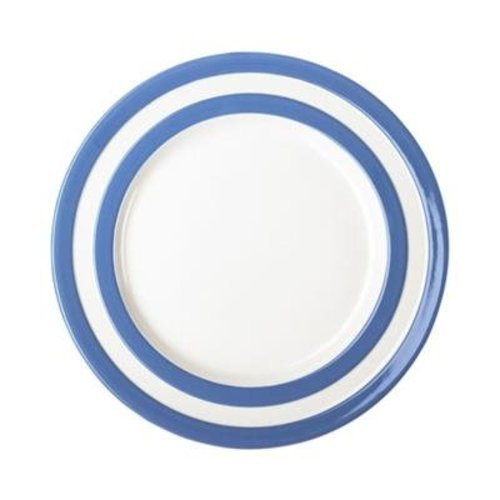 "Cornishware Cornishware Dinner Plate 10"" - Blue"