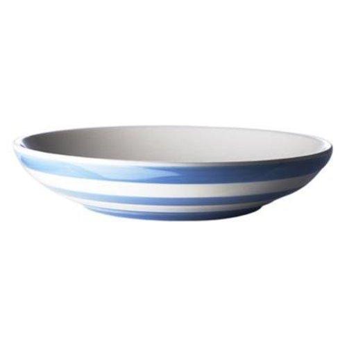 "Cornishware Cornishware Pasta Bowl 9.25"" - Blue"