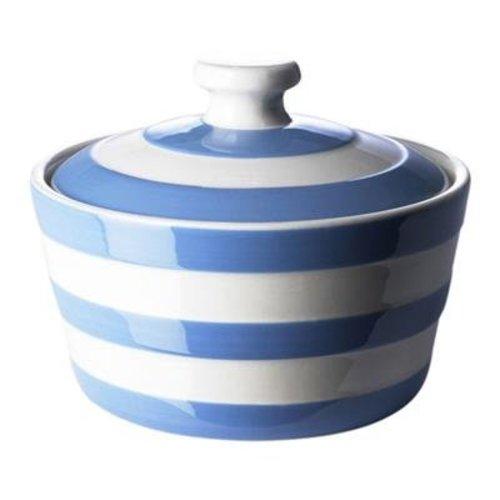 Cornishware Cornishware Round Butter Dish - Blue