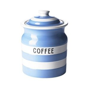 Cornishware Cornishware Storage Jar - Coffee - Blue