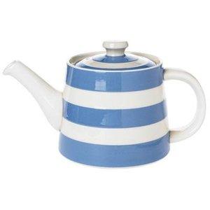 Cornishware Cornishware Straight Teapot 30oz - Blue