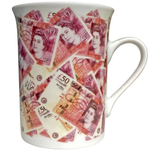 Elgate China Mug - Bank Note