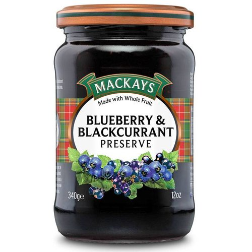 MacKays Mackays Blueberry and Blackcurrant Preserve