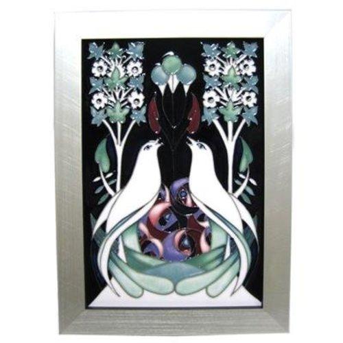 Moorcroft Pottery Moorcroft Talwin Plaque