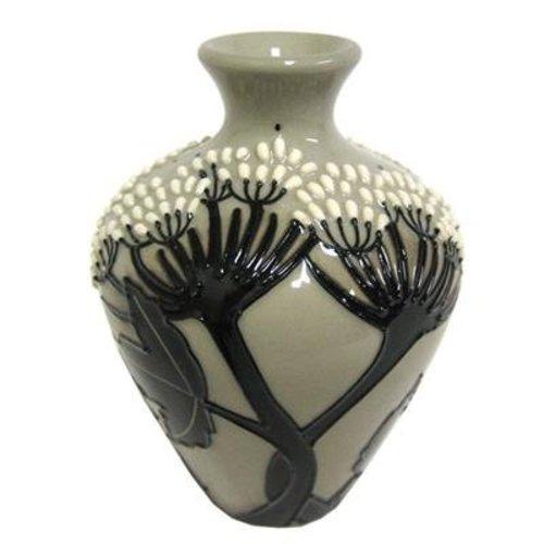 Moorcroft Pottery Moorcroft Summer Silhouette Vase 03/4
