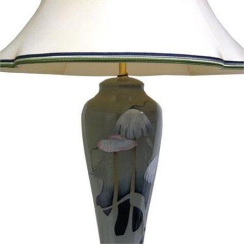 Moorcroft Pottery Moorcroft Fairies Glade Lamp w/ Shade L121/14