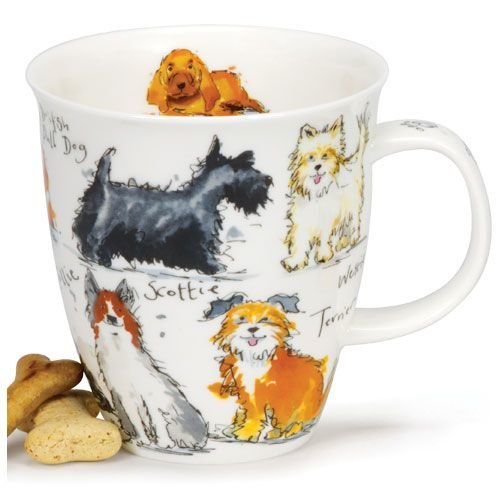 Dunoon Dunoon Nevis Messy Dogs Mug