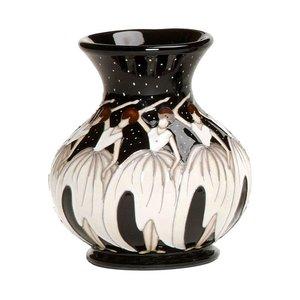 Moorcroft Pottery Twelve Days of Christmas 9 Ladies Dancing Vase