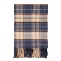 Johnstons 100% Lambswool Mey Selections Throw - Mey Tartan