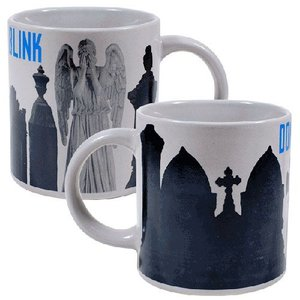 Doctor Who Weeping Angel Heat-Activated Mug