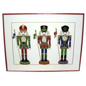 Caspari Caspari Nutcracker Boxed Cards