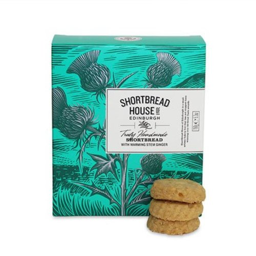 Shortbread House of Edinburgh Shortbread House of Edinburgh Truly Handmade Shortbread - Stem Ginger