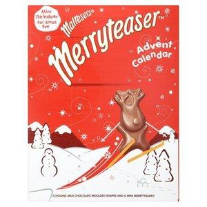 Mars Maltesers Merryteaser Chocolate Advent Calendar