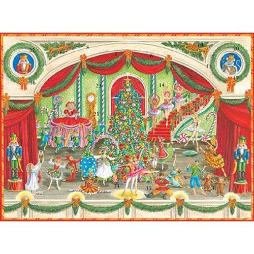 Caspari Caspari Nutcracker 3D Paper Advent Calendar