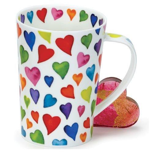Dunoon Argyll Warm Hearts Mug