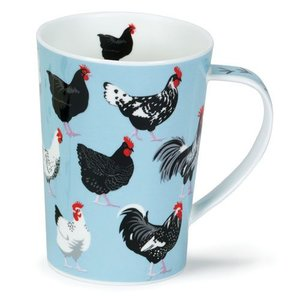 Dunoon Dunoon Argyll Chickens Roaming Free Mug