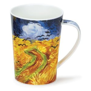 Dunoon Argyll Impressionist Landscapes Wheat Field Mug