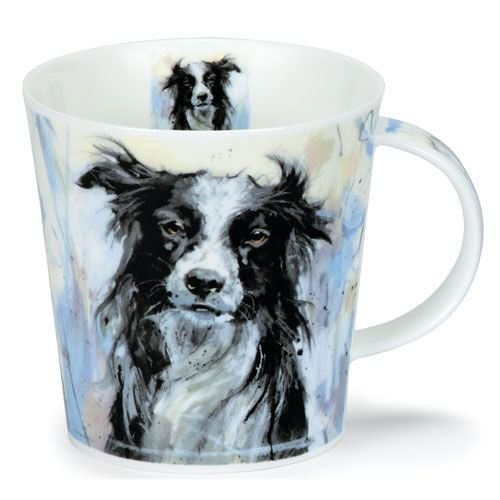 Dunoon Dunoon Cairngorm Dogs on Canvas Mug - Collie