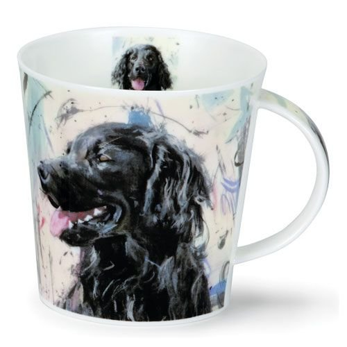 Dunoon Dunoon Cairngorm Dogs on Canvas Mug - Retriever