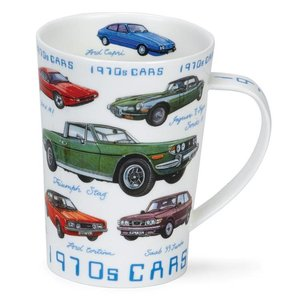 Dunoon Dunoon Argyll 1970s Classic Cars Mug