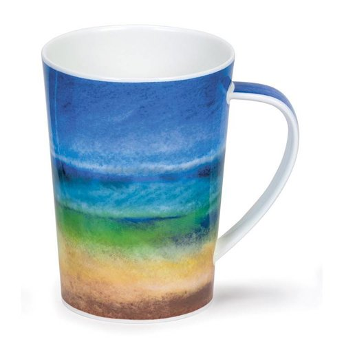 Dunoon Argyll Ocean's Edge Green Mug