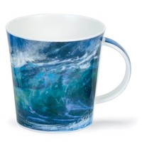 Cairngorm Green Breaking Waves Mug