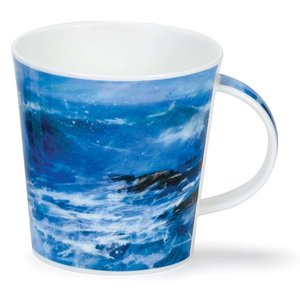 Dunoon Dunoon Cairngorm Breaking Waves Mug - Blue