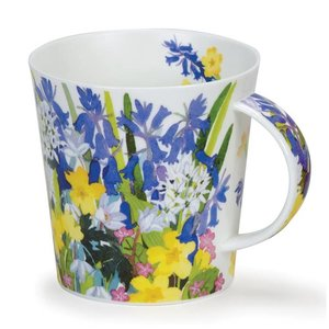 Dunoon Dunoon Cairngorm Country Flowers Mug - Bluebell