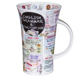 Dunoon Dunoon Glencoe English Grammar Mug