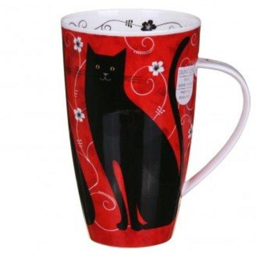 Dunoon Dunoon Henley Tall Tails Mug - Black