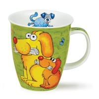 Nevis Green Dogs & Puppies Mug