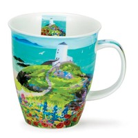 Nevis Sea View Lighthouse Mug