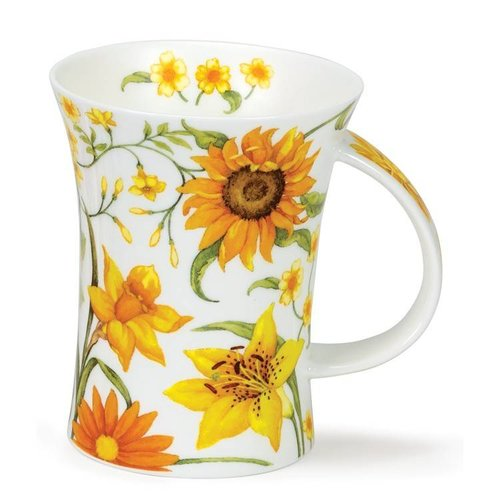 Dunoon Richmond Sissinghurst Yellow Mug