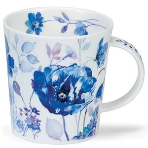 Dunoon Dunoon Lomond Blue Haze Mug - Closed Butterfly