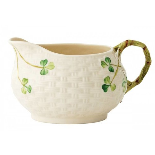 Belleek Belleek Shamrock Cream Jug