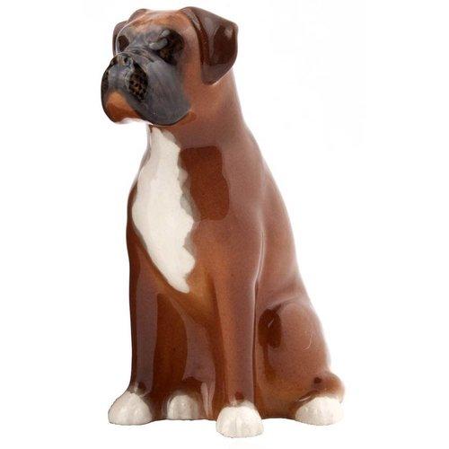 Quail Ceramics Quail Boxer Figure