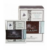 Harney & Sons Tilleul Mint Box of 20 Wrapped Sachets