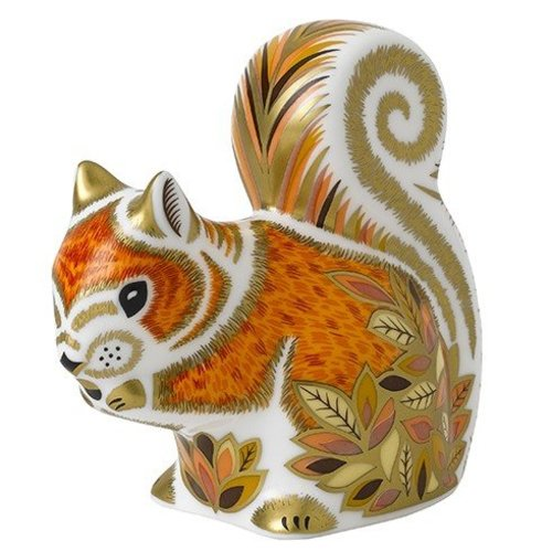 Royal Crown Derby Royal Crown Derby Autumn Squirrel