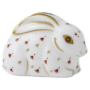 Royal Crown Derby Baby Red Rabbit
