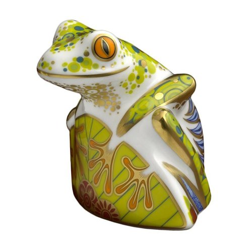 Royal Crown Derby Skip the Frog