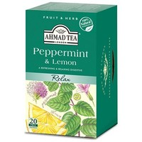 Ahmad Peppermint & Lemon 20s