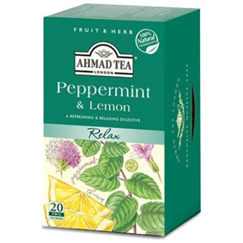 Ahmad Tea Ahmad Peppermint & Lemon 20's