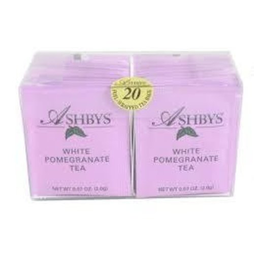 Ashbys Teas of London Ashbys White Pomegranate Tea