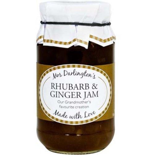 Mrs. Darlington's Rhubarb and Ginger Jam