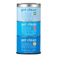 Republic of Tea Get Clean Stackable Tea Tins