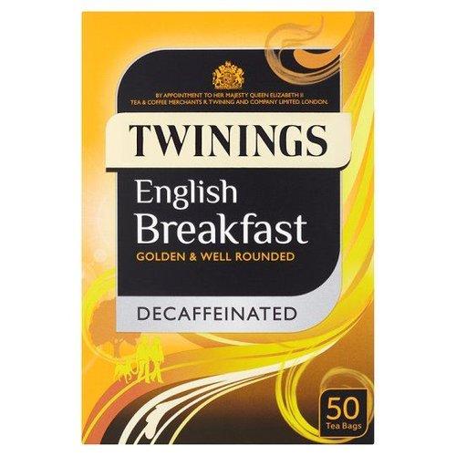 Twinings Twinings 50 CT English Breakfast Decaffeinated